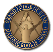 Grand Lodge of Utah Masonic Rookie Award