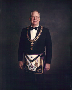 Most Worshipful Brother James A. 'Bud' McIntire